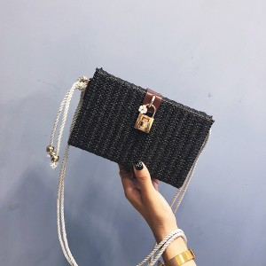 Fairy Bag Fashion Lace Embroidery Box One Shoulder Slanting Women's Bag